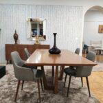 Mesa de Jantar em Nogueira para 6 a 8 Pessoas 1 scaled