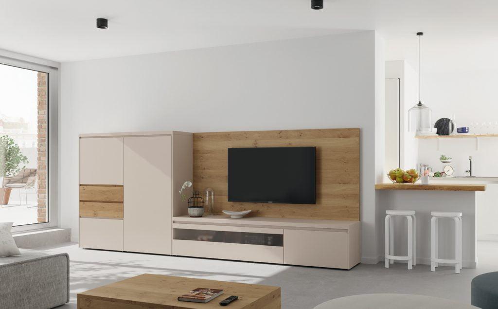 Estante Sonail ref MovelTV013 - Móveis Sala de Estar por Medida Crispalmóvel