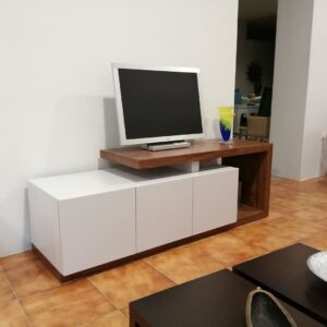 Movel TV Onda Mini Branco ref MovelTV008BR