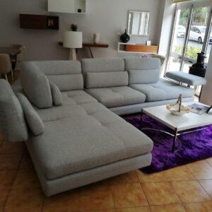 Sofa Canto Serena Cinza ref SofaCanto015