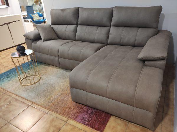 Sofa Chaise Lounge Elvas Taupe 3 scaled