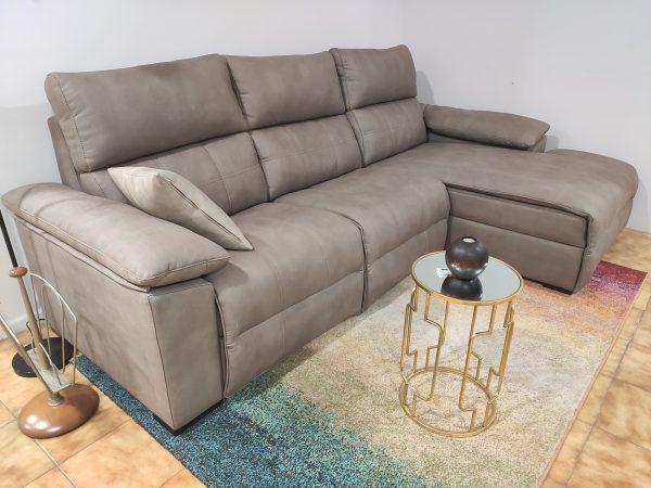 Sofa Chaise Lounge Elvas Taupe 4 scaled