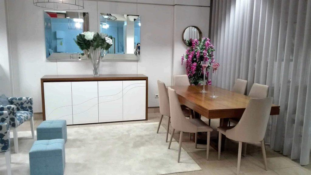 Sala de Jantar Onda - Móveis por Medida Sala de Jantar - Crispalmóvel Loja de Móveis e Decoração no Porto e em Guimarães