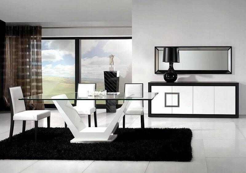 Sala de Jantar Cúbica - Móveis por Medida Sala de Jantar - Crispalmóvel Loja de Móveis e Decoração no Porto e em Guimarães
