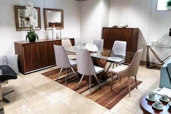 Sala de Jantar Carina Amy- Móveis por Medida Sala de Jantar - Crispalmóvel Loja de Móveis e Decoração no Porto e em Guimarães