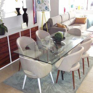Sala de Jantar Cristal Iron - Móveis por Medida Sala de Jantar - Crispalmóvel Loja de Móveis e Decoração no Porto e em Guimarães
