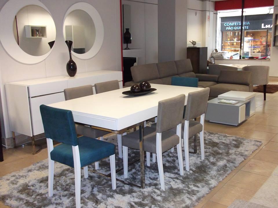 Sala de Jantar White Iron - Móveis por Medida Sala de Jantar - Crispalmóvel Loja de Móveis e Decoração no Porto e em Guimarães
