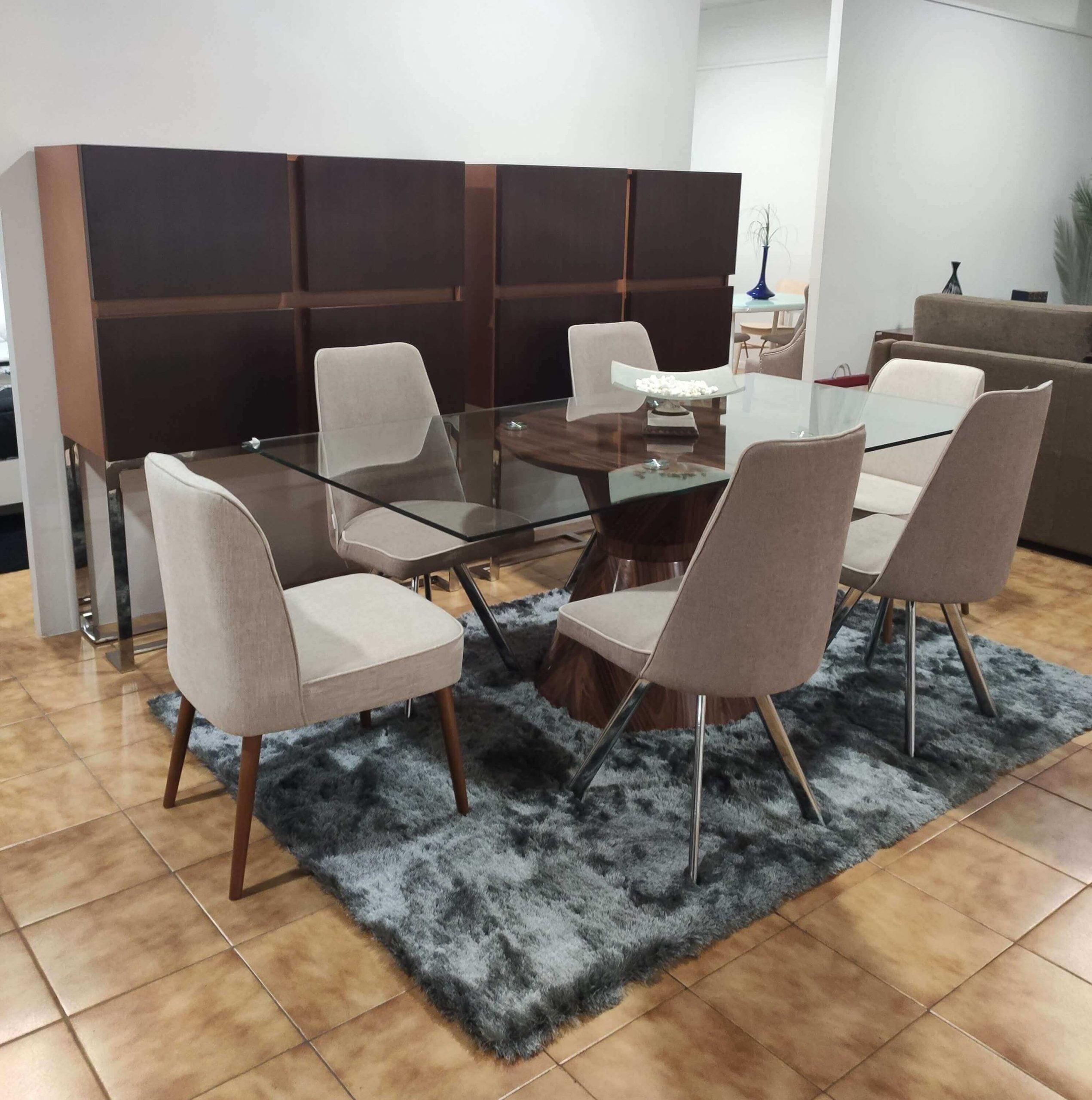 Sala de Jantar Remoin - Móveis por Medida Sala de Jantar - Crispalmóvel Loja de Móveis e Decoração no Porto e em Guimarães