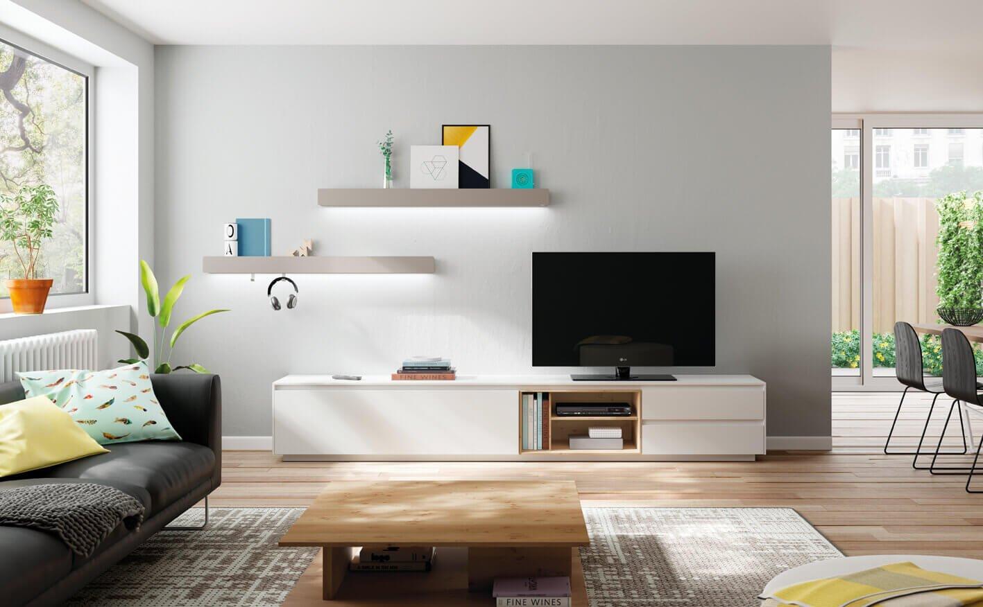 Simpa Estantes e Móvel Tv - Móveis Sala de Estar por Medida Crispalmóvel