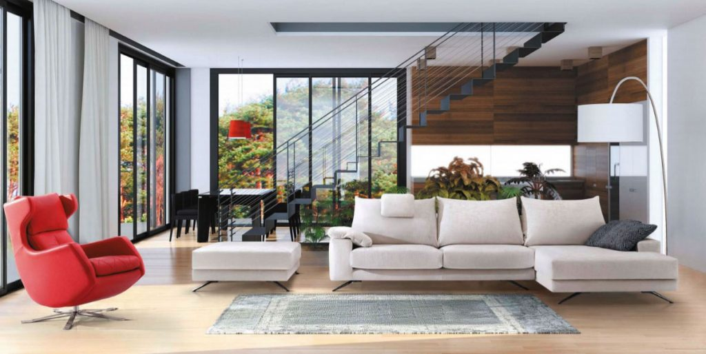 Bimbo Sofá Chaise Lounge Modular - Sofás por Medida Crispalmóvel