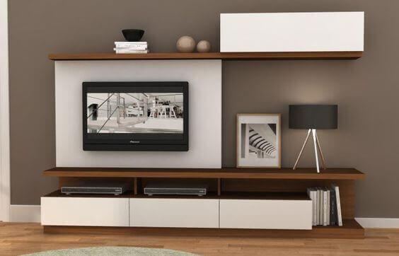 Yui Estante e Móvel Tv - Móveis Sala de Estar por Medida Crispalmóvel
