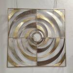 Espelho Decorativo Remoinho Dourado 2 scaled