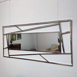 Espelho Retangular Inox Desigual