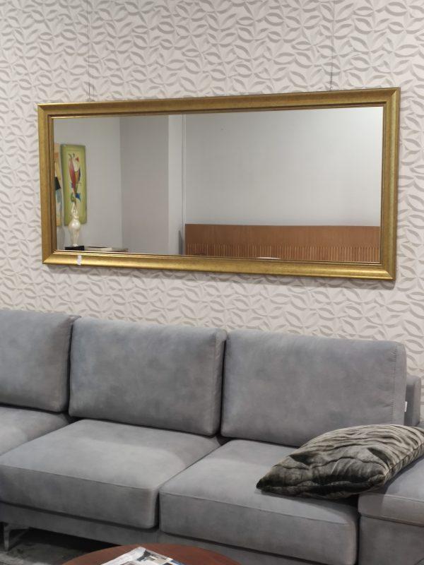Espelho Rectangular Grande Moldura Dourada 3 scaled