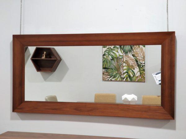 Espelho Rectangular Rebordo Nogueira 1 scaled