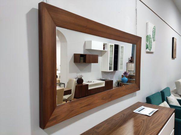 Espelho Rectangular Rebordo Nogueira 3 scaled
