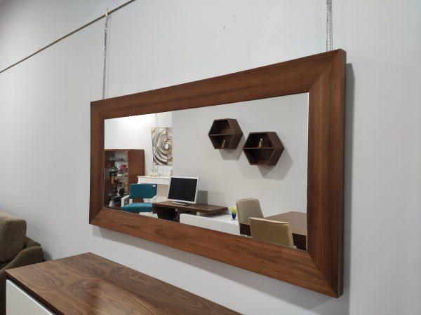 Espelho Rectangular Rebordo Nogueira 4 scaled