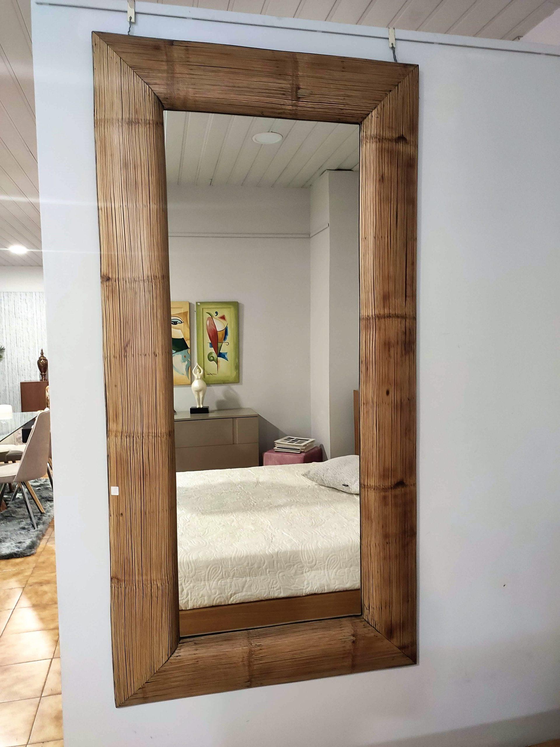 Espelho Retangular Canas Rebordo Madeira 1 scaled