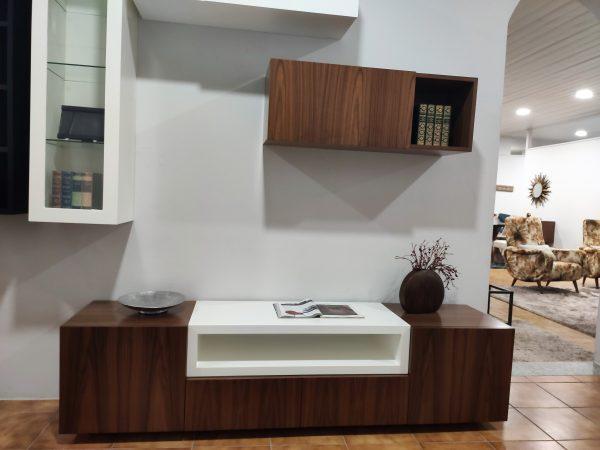 Movel Tv Cubico Nogueira com Branco 1 scaled
