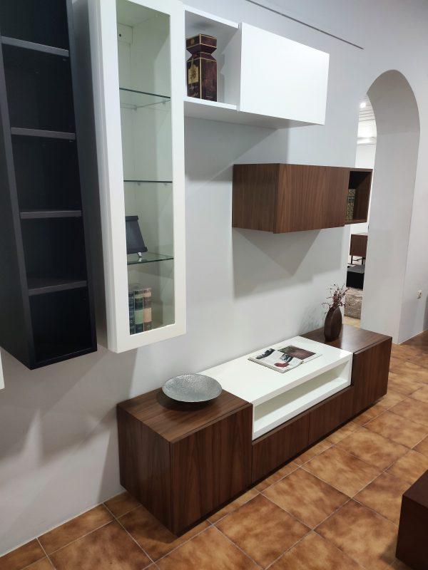 Movel Tv Cubico Nogueira com Branco 5 scaled