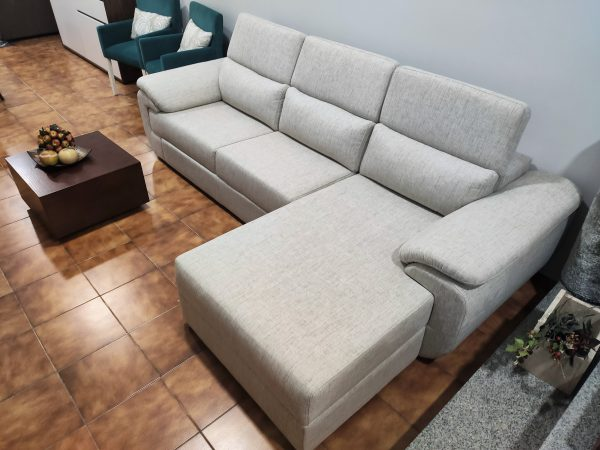 Sofa Chaise Lounge Bege Relax 1 scaled