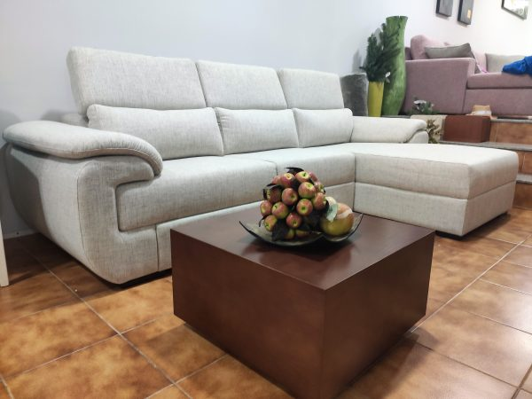 Sofa Chaise Lounge Bege Relax 2 scaled