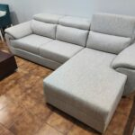 Sofa Chaise Lounge Bege Relax 4 scaled