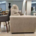 Sofa de 2 e 3 lugares Viena Bege com pe inox 6 scaled