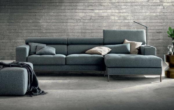 Capri Chaise Lounge Sofas por Medida Crispalmovel