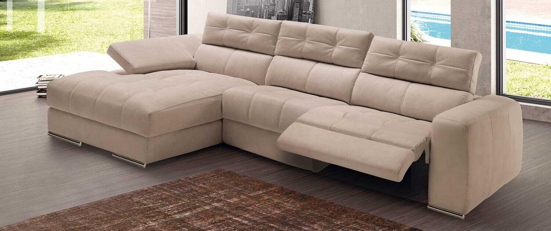 Elena Chaise Lounge Sofas por Medida Crispalmovel