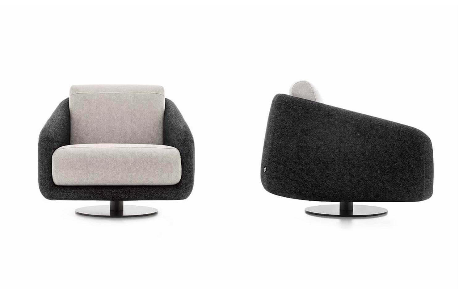 Gira Cadeirao Rotativo em Tecido Cadeiroes por Medida
