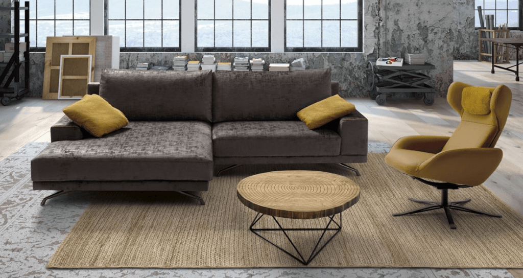 Sandy Sofa de 2 e 3 Lugares Por Medida Crispalmovel