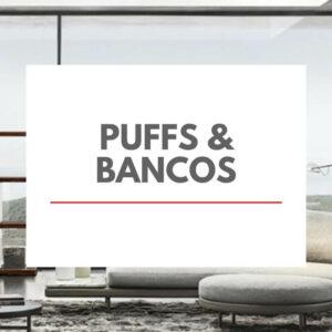 Puffs e Bancos