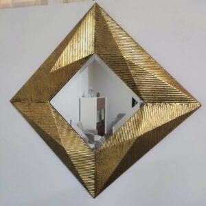 Espelho Estrela Dourado 4