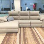 Chaise Lounge Relax Sistema Eletrico Elvas Tecido Microfibra Cinza Claro Crispalmovel 3