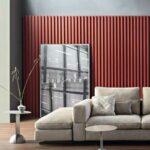 Sofa de 3 Lugares Atenas em tecido bege confortavel e envolvente lado