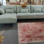Chaise Lounge Dyor de Alta Gama Modelo Italiano em tecido com espumas ergonomicas e penas Crispalmovel 2