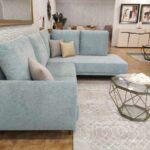 Berta Sofa de Canto de bracos estreitos em tecido macio com almofadas altas Crispalmovel Sofas por Medida 5
